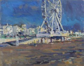 The Brighton Wheel, Winter
