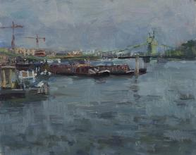 The Thames at Hammersmith, Grey Light