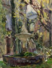 Fountain at Saignon, Provence