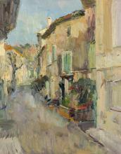 Side Street Evening Light Saignon