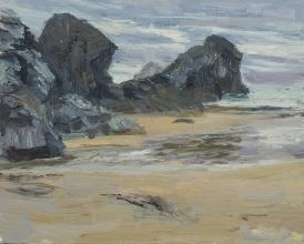 Beach and Cliffs, Porthcothan